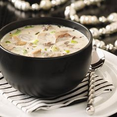 If you like mushrooms, you will LOVE this soup!