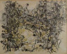 Jean Paul Riopelle Watercolor Art Informel, Tachisme, Canadian Painters, Oil Painting Techniques, Surrealism, Illustrators, Watercolor, Abstract, Drawings