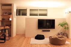 Zen Style, Storage Room, Flat Screen, House Design, Interior, Instagram, Home Decor, Panel Room Divider, Bed