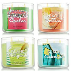 Beach holiday! - candles