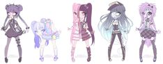 Undead cuties - closed by kawaii-antagonist on DeviantArt