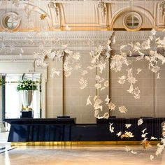 """""""The Peninsula Paris is located in a late 19th century classic Haussmanian building,  which first opened as one of Paris's most luxurious """"grands hotels""""…"""""""