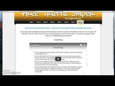 Free Traffic Sniper | Bonus and Review  3 Simple Steps to Claim These Bonuses Get the product through my link. After completing the transaction, forward the receipt to my email address at: mail@cloudmakemoney.com You will receive my bonus package within 24 hours Note: To get my bonus package, make sure that the first time you went to the sales page is via my link. If not, please delete cookies on your web broswer, then click my link. Cheers!