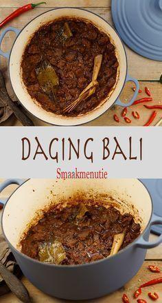 Daging Bali #recept #recipe #daging #bali #indisch #indonesian Crockpot Recipes, Healthy Recipes, Indonesian Food, Indonesian Recipes, Slow Cooked Beef, Asian Kitchen, Good Food, Yummy Food, Beef Ribs