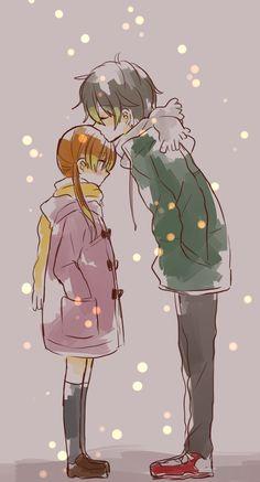 tonari no kaibutsu-kun ,My Little Monster,anime,haru ,shizuku,love ,shoujo