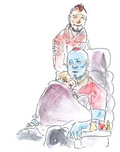 guardians of the galaxy yondu and peter guardians of the galaxy yondu and peter ` guardians of the galaxy vol 2 yondu and peter Marvel Fan Art, Marvel Dc Comics, Marvel Memes, Baby Avengers, Marvel Avengers, Loki, Yondu Udonta, Gaurdians Of The Galaxy, We Have A Hulk