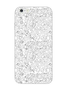 5cb0ff846805 Dental Pattern - For Dentists - Designer Mobile Phone Case Cover for Apple  iPhone 6 Iphone