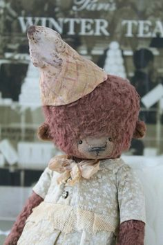Милый мишка Тедди от вдохновляющего мастера Анны Цымбал