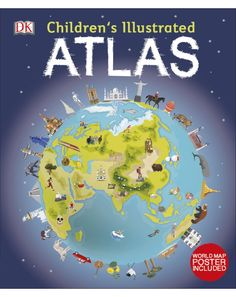 Children's Illustrated Atlas - primary image