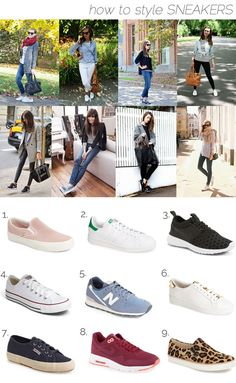 how to style: sneakers!