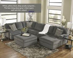 What accent color would you pick to pair with YOUR great sectional?