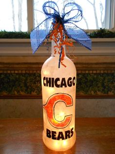Chicago Bear's Lamp