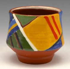 Small Cup  Gillian McMillan 2016 Slip-painted earthenware Earthenware, Planter Pots, Crock