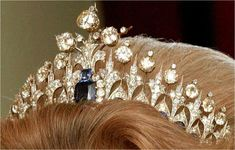 The Royal Order of Sartorial Splendor: Tiara Thursday: The Mellerio Sapphire Tiara (Dutch)