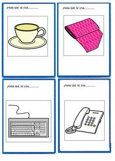 Para qué sirve, de Mabel Freixes :El sonido de la hierba al crecer Baby Learning, Spanish Class, Speech Therapy, Kindergarten, Homeschool, Playing Cards, How To Plan, Games, Link
