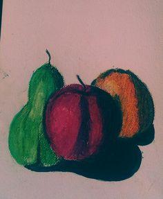 Drawing fruits
