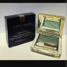 Estee Lauder Pure Color Gelee Eyeshadow Condition: NIB   Flaw: Mini sponge applicator never came in box  Description: vivid shine powder eyeshadow last for up to 8 hrs. Fragrance Free Ophthalmologist tested apply wet or dry   Color: Pop Pistachio VIVID SHINE   swatch is on the far left   no pp No trades no other sites  Open to reasonable offers Estee Lauder Makeup Eyeshadow