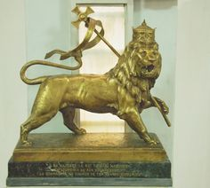 The Lion of Judah | The French inscription on the statue's b… | Flickr