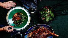 Shawarma-Spiced Braised Leg of Lamb Recipe   Bon Appetit