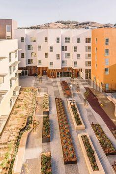 Bayview Hill Gardens, Сан-Франциско. David Baker Architects