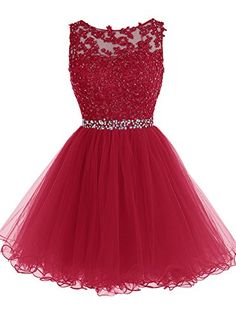 Tideclothes Short Beaded Prom Dress Tulle Applique Homeco... https://www.amazon.com/dp/B018WWMDZ2/ref=cm_sw_r_pi_dp_x_PYT5xbS2GHMMD