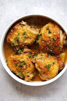 Honey Mustard Chicken - tender, juicy and fall-off-the-bone chicken in rich honey mustard sauce. The easiest and most delicious chicken dinner ever   rasamalaysia.com