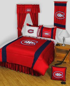 NHL Montreal Canadiens  Comforter Set  Queen Bedding ** Check out this great product.