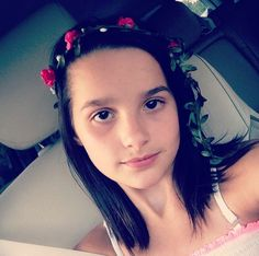 This is Annie riding in the car she is from bratayley and acroanna