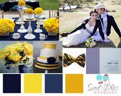 mustard  navy blue gonna be 1 of my wedding option!