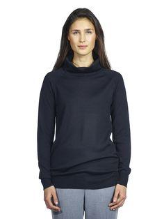 A timeless roll neck sweater from italian Merino Wool. Roll Neck Sweater, Merino Wool, Fall Winter, Turtle Neck, Knitting, Sweaters, Women, Fashion, Moda