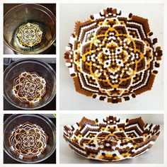 Perler fuse bead bowl by Fallon Marie Trask