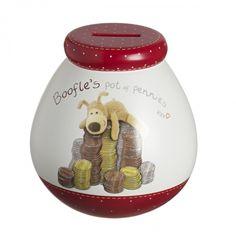 Boofle Pot Of Pennies Money Pot Piggy Bank Valentine Day Gifts, Valentines, Money Box, Piggy Bank, Pennies, Ceramics, Dreams, Celebrations, Valentine's Day