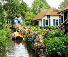 Europe's Most Beautiful Villages: Giethoorn, Netherlands