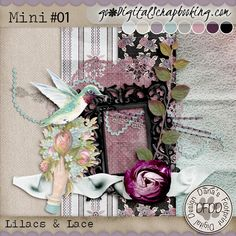 Lilacs & Lace Mini #01