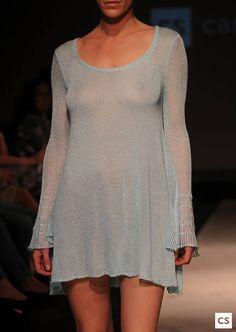 vestido Perla,algodón y seda,tejido/Perla dress knitsilk&cotton.