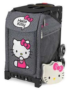 Zuca Hello Kitty Leopard Sport Insert Bag with Matching Pouch , 2-days shipping