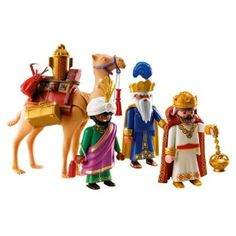 Holy scenes are perfect for Easter celebrations. Playmobil Three Wise Kings