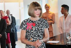 Notables from the worlds of fashion, publishing and theater gathered to honor Ms. Wintour, recently named a dame by Queen Elizabeth II Diana Vreeland, Page Boy, Young Designers, Anna Wintour, Queen Elizabeth Ii, Ny Times, World Of Fashion, Style Icons, Vogue