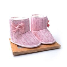 Toddler Knitted Winter Fleece Snow Boots  Reference:  153  Condition:  New product    Material:Cotton