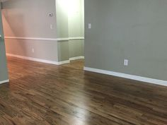 Finished!  Red Oak #2  Bona stains in  ½ neutral ¼ grey ¼ jacobean 3 coats satin poly clear