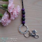 Helmipaikka Oy - Joka päivä on korupäivä - Helmipaikka. Id Badge, Necklaces, Personalized Items, Chain, Wedding Necklaces