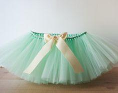 Mint green 'Sadie' Tutu, girls tutu children's tutu wedding flower girl tutu photo prop birthday size 5, 6, 7, 8, 10, 12,