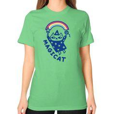MAGICAT Unisex T-Shirt (on woman)