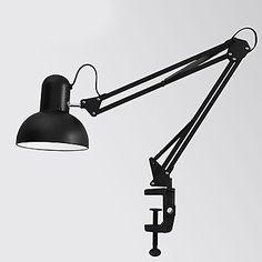 Modern Trabajo y Estudio de la lámpara estadounidense Long Arm Clip Lamp Protección para los ojos – USD $ 49.99
