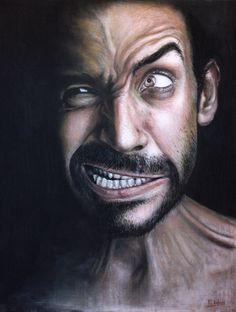 pastel portrait - Brilliant Photorealistic Pastel Portraits by Rubén Belloso Adorna