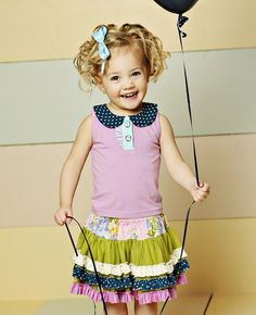 So cute for pictures!  Matilda Jane Clothing