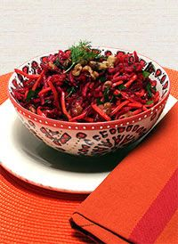 Beet, Carrot and Apple Salad