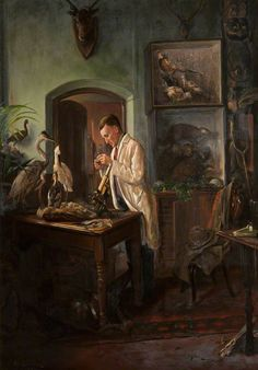 The Naturalist,  George Henry Wimpenny   1920s