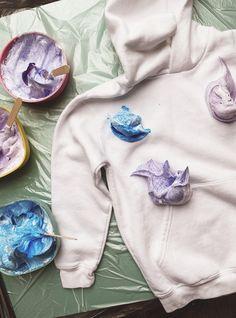 Schaum, Upcycle, Sweatshirts, Sweaters, Kids, Crafts, Craft Ideas, Fashion, Shaving