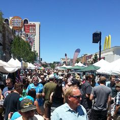 BBQ, Brews and Blues Festival in downtown Reno